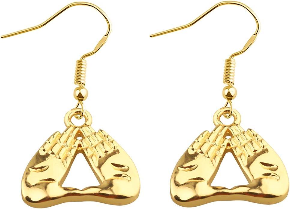 Delta Sigma Theta Earrings Set