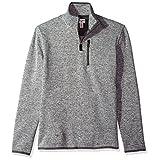 Dockers Men's Quarter Zip Sweater Fleece, Foil Heather, XX-Large