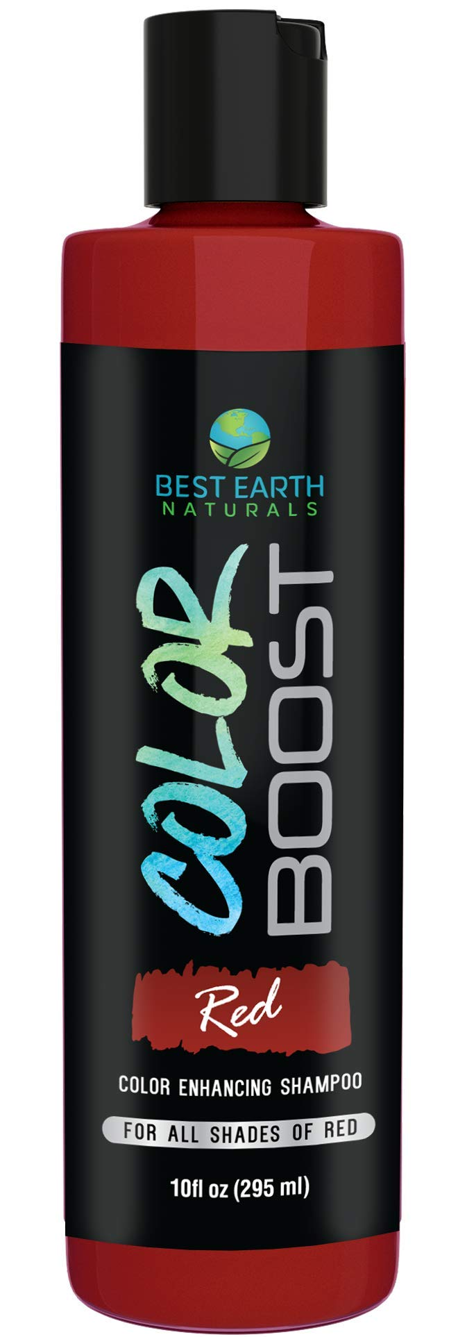 Color Boost Red Color Depositing Shampoo For All