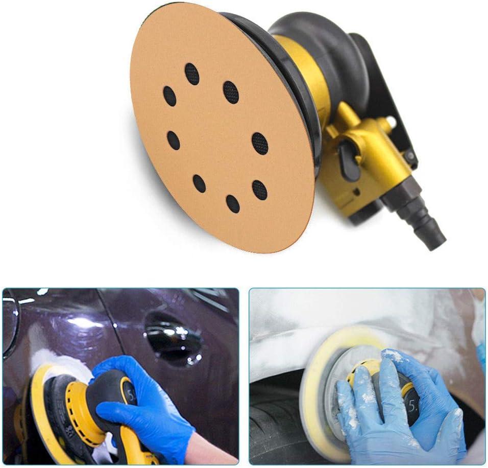 8//0 agujeros 5//25 discos de lija discos Loop 60//80//100//120//150//180//240//320//400//600 granos 125 mm//150 mm para lijadora orbital aleatoria