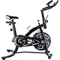 $159 » Exercise bike stationary bikes Trainer workout equipment with Comfortable Seat Cushion ,GT Stationary Professional Indoor Cycling Bike…
