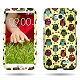 lg l70 phone accessories - CoverON Hard Slim Design Case for LG Optimus L70 Exceed 2 Realm Pulse Ultimate 2 L41C with Cover Removal Pry Tool - Fancy Owl