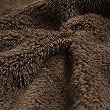 LIM&SHOP✦ Womens Fuzzy Fleece Open Front Hooded