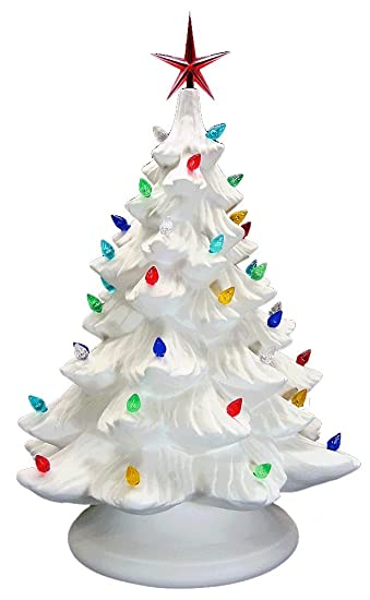 ceramic bisque ready to paint large christmas tree base light up - A Christmas Tree