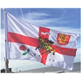 5Ft X 3Ft 5'X3' Flag England English Rose Lion St Georges Day English