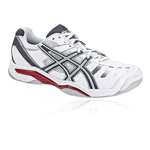 Damen Hallen Schuhe Teppich Tennis Dedicate Indoor Gel 3