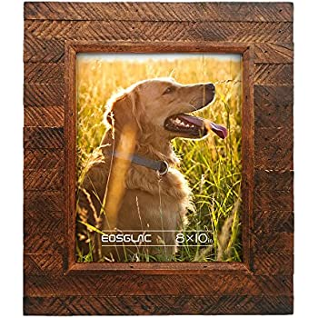 Amazon.com - BarnwoodUSA Rustic 8x10 Inch Picture Frame 1 1/2 Inch ...
