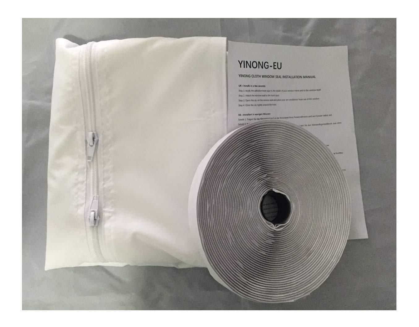 90x210 CM Joint de Porte,Yinong Airlock Joint de Fen/être Kit De Calfeutrage Pour Climatiseurs,S/èche-linge et D/éshumidificateurs