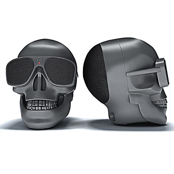 Review LtrottedJ Plastic Skull Metallic