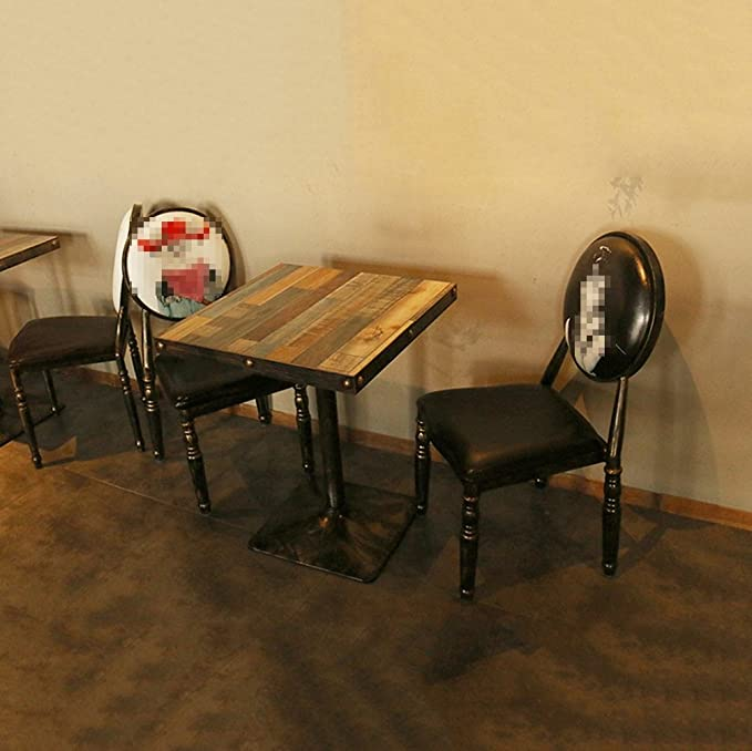 Basse VintageCreative Table Café Art Restaurant SZQ Fer thCxrdsQ