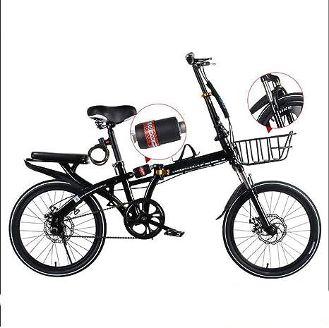Bove Amortiguadores Folding Bicicleta Plegable Single Speed ...