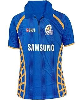 b28bfc54e Buy JS Mumbai Indians Unisex ipl Jersey for Kids   Mens Online at ...