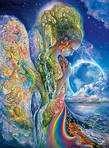 Buffalo Games - Josephine Wall - The Sadness of Gaia - Glitter Edition - 1000 Piece Jigsaw Puzzle