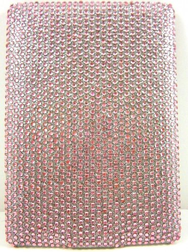 Light Pink Diamante Kindle 6 Crystal Rhinestone Back ()