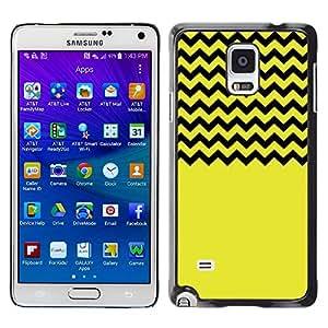 Dragon Case - FOR Samsung Galaxy Note 4 - Your carefree heart - Caja protectora de pl??stico duro de la cubierta Dise?¡Ào Slim Fit