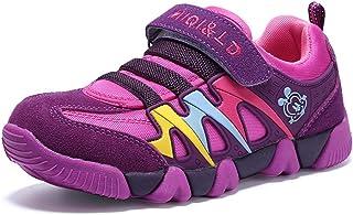 Moquite Baskets Enfants Chaussure de Course Fille Sneakers Enfant Garçon Chaussures Scolaire l'École Running Shoes Compétition Entraînement Chaussure
