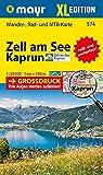 Zell am See - Kaprun XL: Wander-, Rad- und Mountainbikekarte. GPS-genau. 1:25000 (Mayr Wanderkarten)