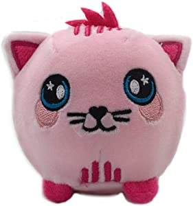 Millffy SGS Tested Safety Pu Foamed Squish Ball squishes Toy squishys Toys (Cat, 3.5'' (Dia.8.8cm Ball))