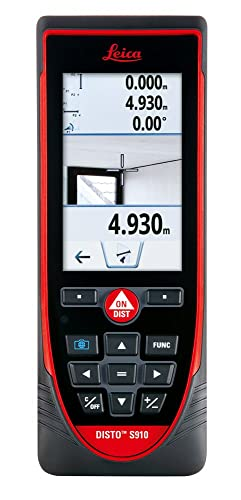 Best Outdoor Laser Measure: Leica DISTO S910
