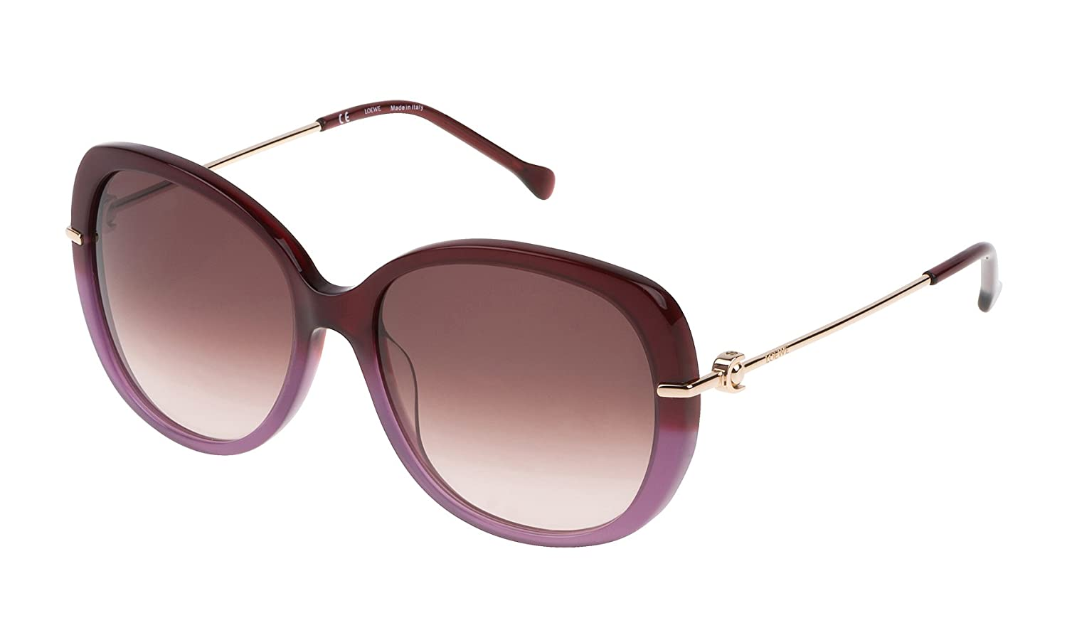 Loewe SLW936M5707LP, Gafas de sol para Mujer, Light Purple 57