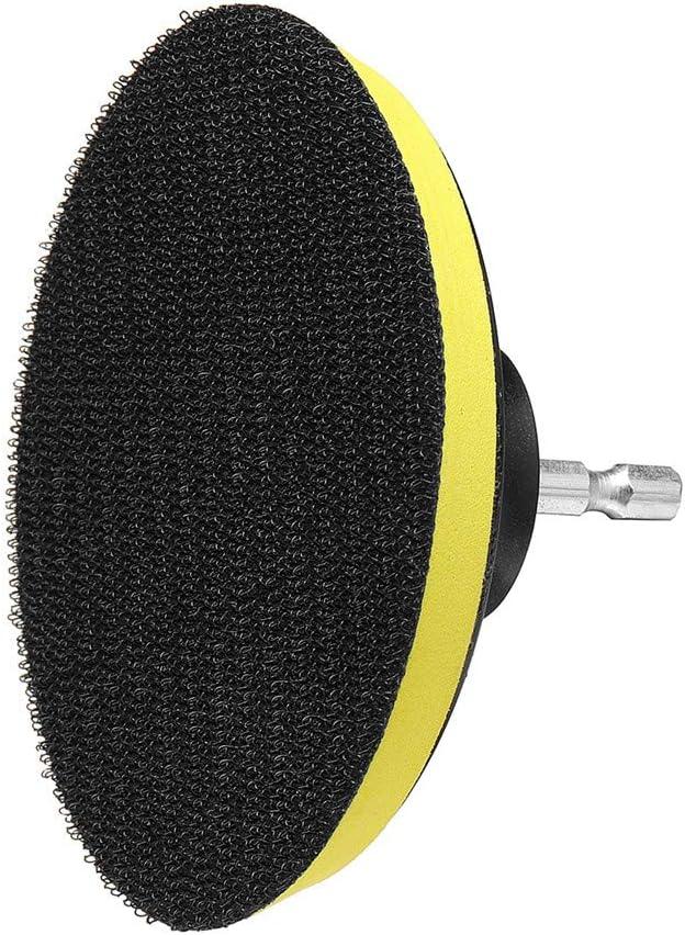 EsportsMJJ 8Pcs 4 Inch Bathroom K/üche Drill Cleaning Brush Scrub Pads Scouring Pad For Bathtubs Tile