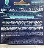 EZ Tag Toll Sticker for Texas and Kansas