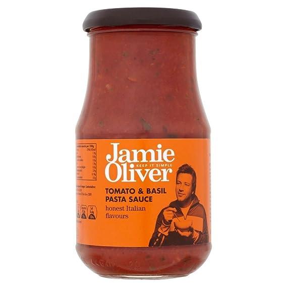 Jamie Oliver Salsa De Pasta - Tomate Y Albahaca (400g) (Paquete de 2