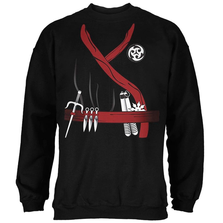 Amazon.com: Halloween Red Clan Ninja Assassin Costume Mens ...