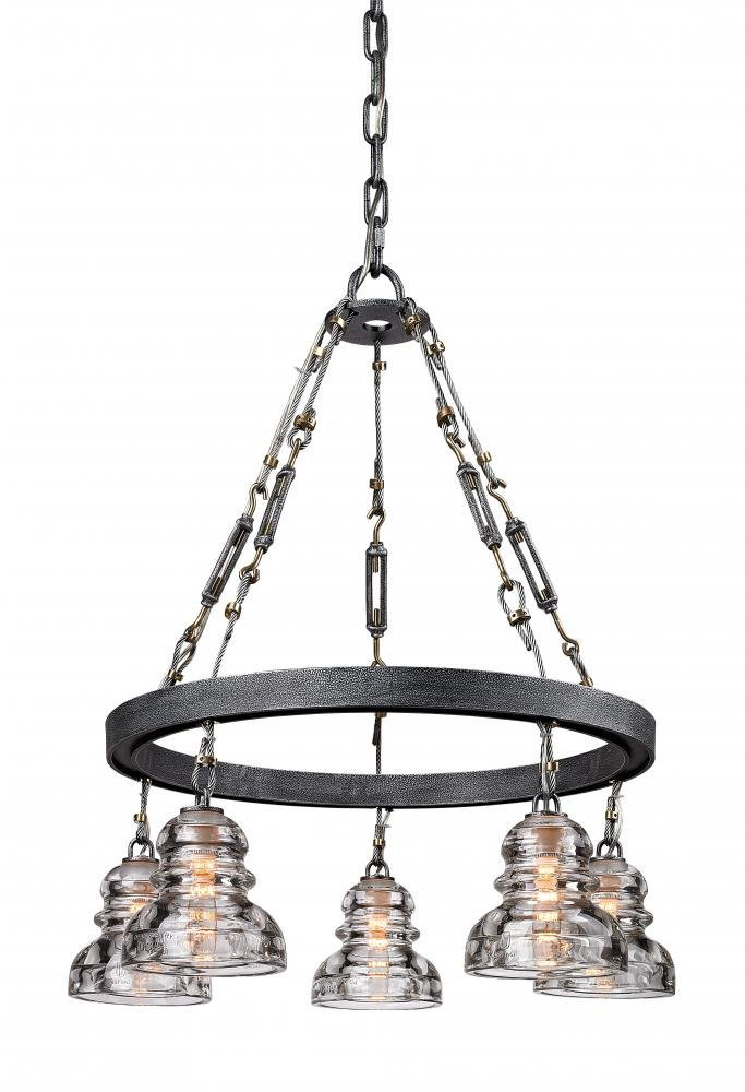 Amazon troy lighting menlo park 255 w 5 light pendant old amazon troy lighting menlo park 255 w 5 light pendant old silver finish with historic pressed clear glass home improvement aloadofball Gallery