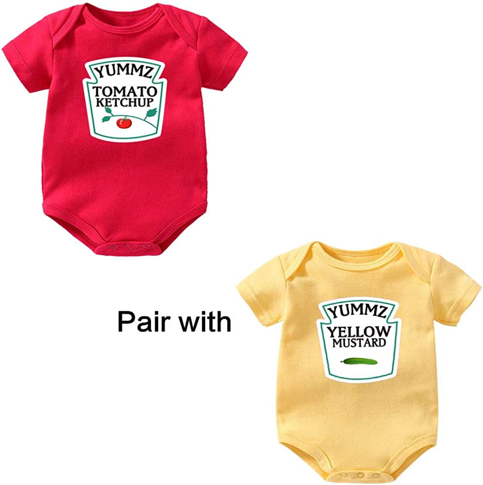 100/% Cotton /& Short Sleeve ELISE Baby Bodysuit in Sign Letter Photos