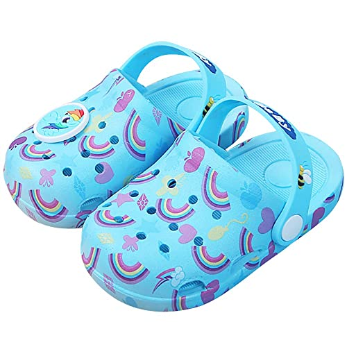 501f9a35c909e Kids Boys Girls Comfort Unicorn Sandals Lightweight Slip On Water Shoes  Pool Garden Clogs Cute Summer