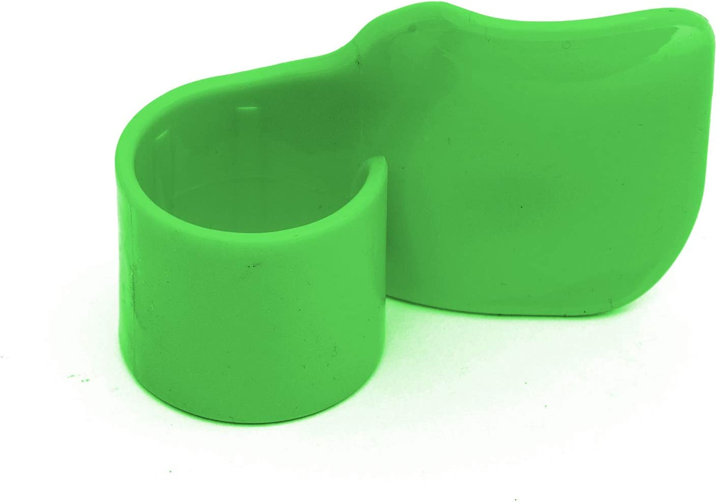 Motorcycle Twist Throttle Assist Grip Green Cruise Motorbike Clamp On Fitment
