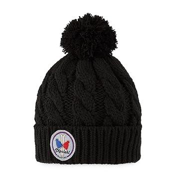 Pipolaki Alpina Bonnet Mixte Enfant, Noir, FR Fabricant   Taille Unique 79e7b3a399f