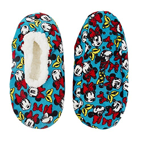 Minnie Mouse Silky Suede Babba Womens' Slipper Socks