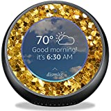 MightySkins Skin for Amazon Echo Spot - Gold Chips | Protective, Durable, and Unique Vinyl Decal wrap Cover | Easy to Apply, Remove, and Change Styles | Made in The USA
