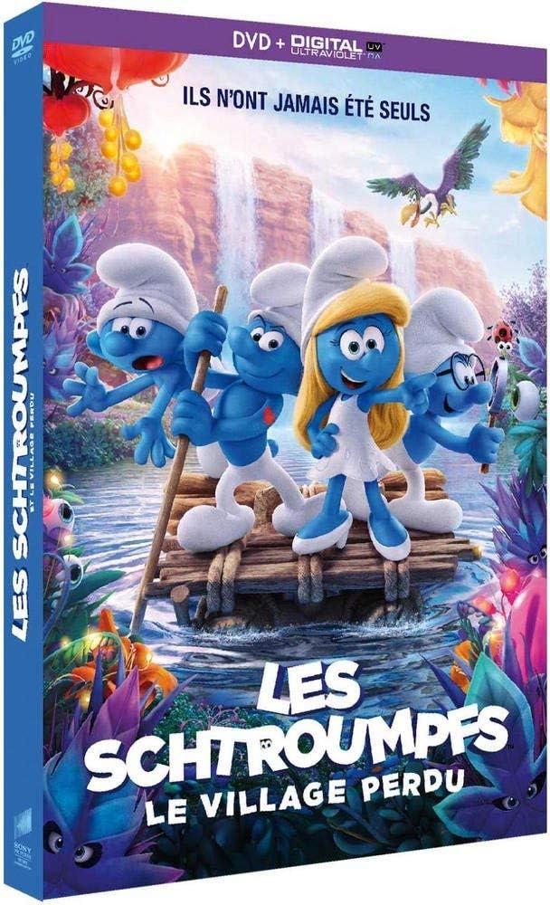 Les Schtroumpfs Et Le Village Perdu Dvd Copie Digitale Amazon