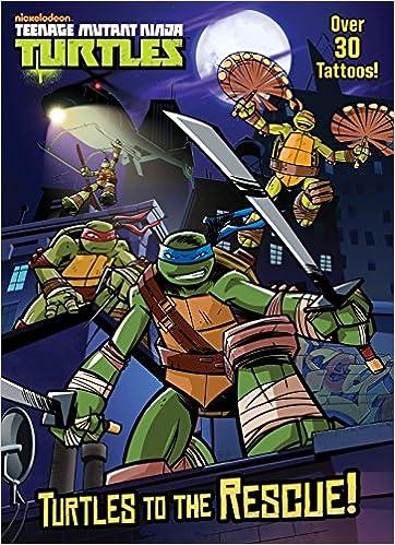 Amazon.com: Turtles to the Rescue! (Teenage Mutant Ninja ...