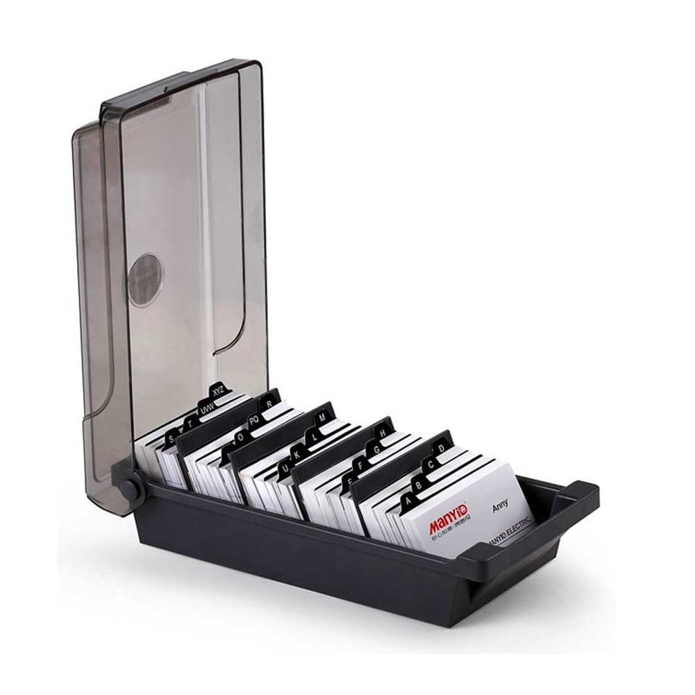 delicate Da Jia Large Capacity Covered Business Card File Holder ...