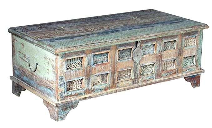 The Attic French Style Houston Sideboard (Matt Finish, Distress Blue)