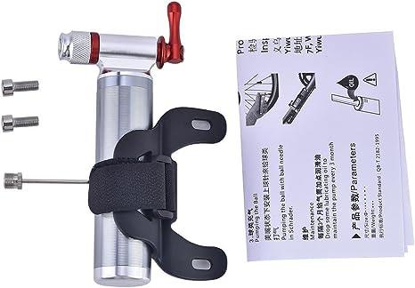 VGEBY1 Bomba de CO2 para Bicicleta, Mini inflador portátil para ...