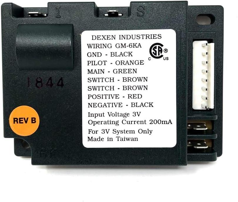 Dexen IPI electronic ignition control module.593-592 3 volt Input