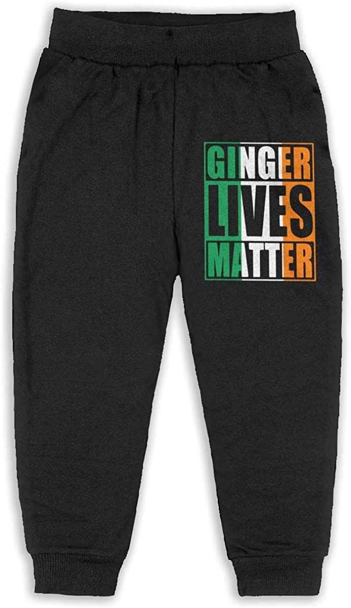 Soft Cozy Baby Boy Jersey Pant Ginger Lives Matter Irish Flag Unisex Baby Pants
