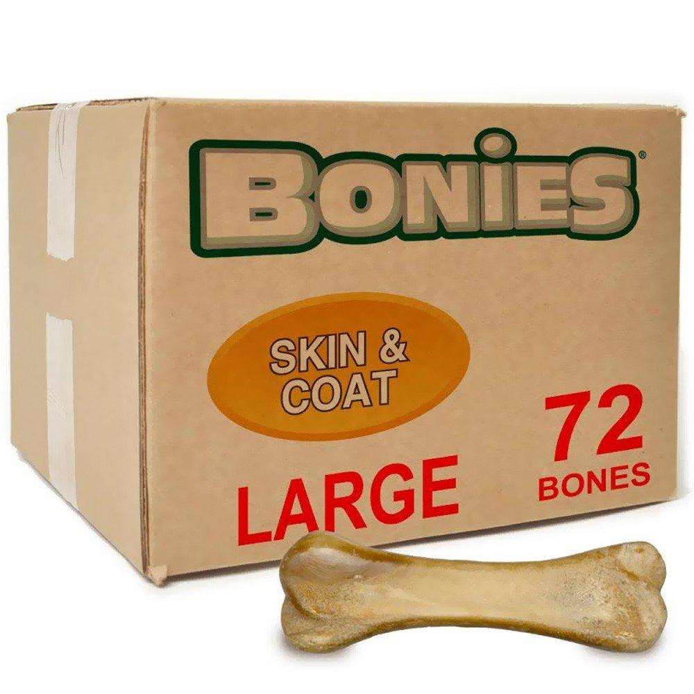 BONIES Skin Coat Health BULK BOX LARGE (72 Bones)