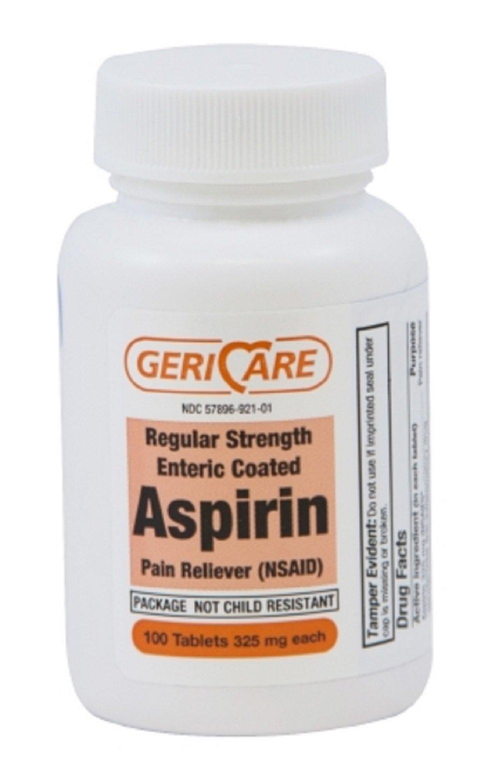 McKesson Brand - Pain Relief - 325 mg Strength - Tablet - 100 per Bottle - 1200/Case-McK
