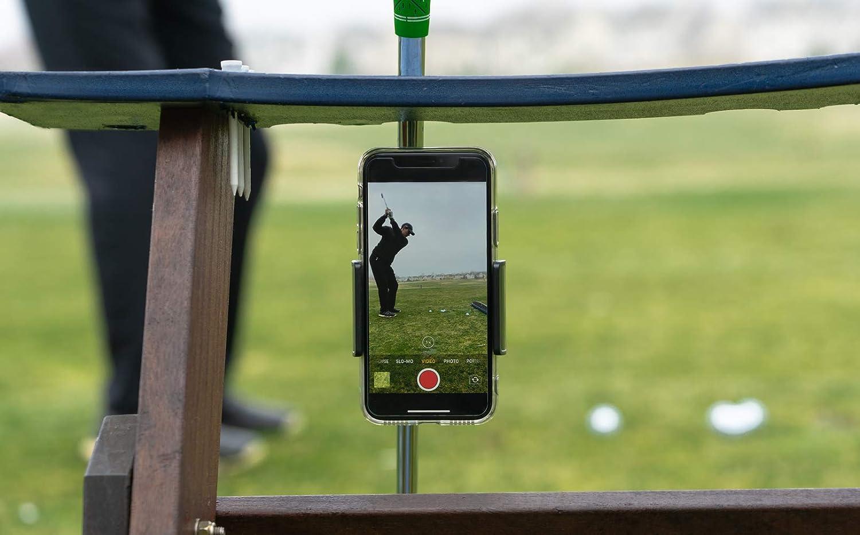 Amazon.com: PureShot Golf Swing Grabación teléfono Clip de ...