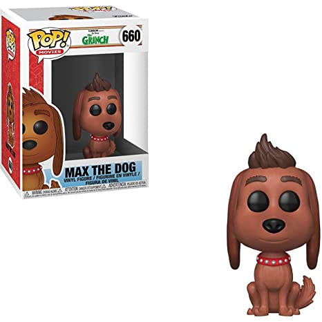 f22b7443cf4 Image Unavailable. Image not available for. Color  Funko Max The Dog  Dr. Seuss  The Grinch x POP!