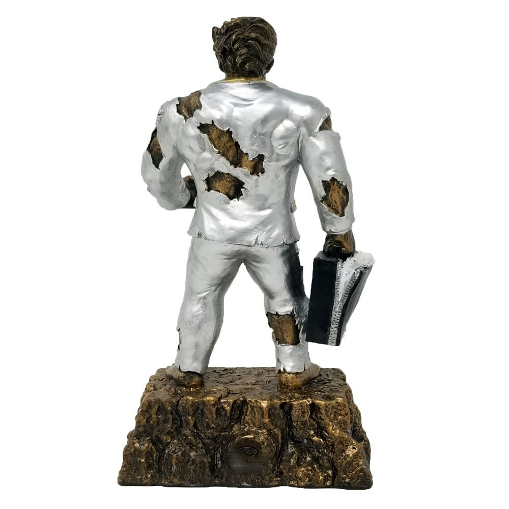 Salesman Monster Trophy | Sales Hulk Award | 6.75 Inch - Free Engraved Plate on Request - Decade Awards