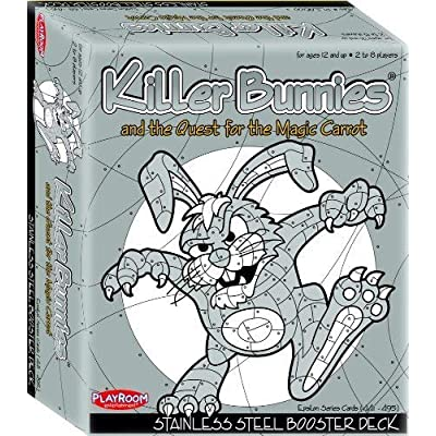 Playroom Entertainment Killer Bunnies Steel Booster: Toys & Games