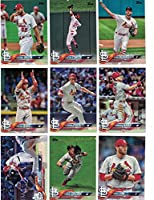 St Louis Cardinals / Complete 2018 Topps Series 1 Baseball 11 Card Team Set! Includes 25 bonus Cardinals Cards!