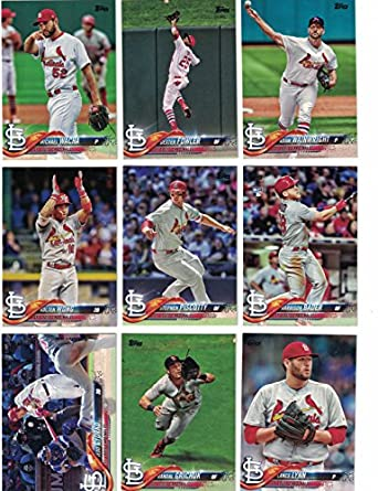 St Louis Cardinalscomplete 2018 Topps Series 1 2 Baseball